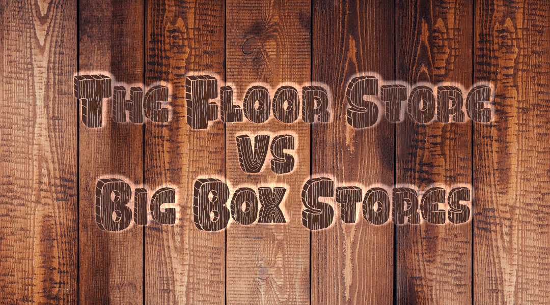 Us Vs the Big Box Stores