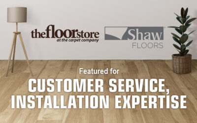 The Floor Store Featured for Customer Service, Installation Expertise at National Event Hosted by Shaw Industries